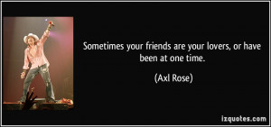 Friends Before Lovers Quotes