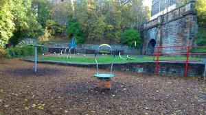 Works complete – King George V playpark