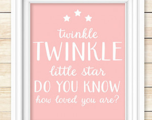 ... Print, gift for baby girl, baby shower gift, inspirational quotes