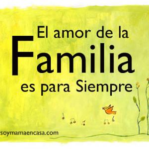 El amor de la familia es para siempre #frases de familia is creative ...