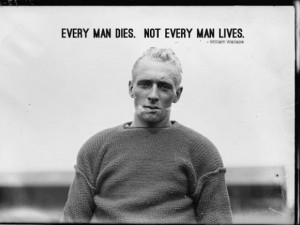 Manly man quote
