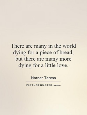 Dying Quotes Mother Teresa Quotes