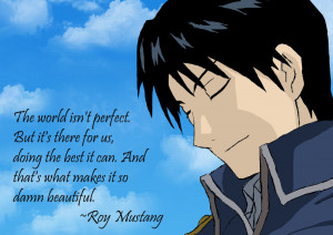 Roy Mustang Quote's by taufiksitompul