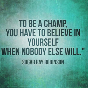Motivation Picture Quote For Champions