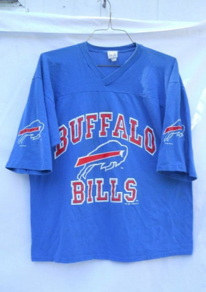 Vintage 1992 Buffalo Bills Football Shirt XL http://clektr.com/HLE