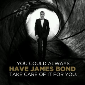 Specter. Harvey Spector. James Bond