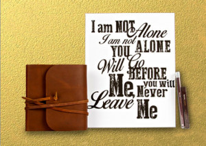 Quotes Pictures List: Kari Jobe I Am Not Alone