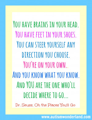 ... DrSeuss Oh the Place Youll Go Happy Birthday Quotes For Son