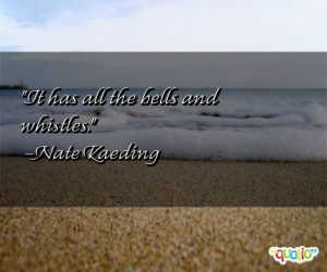 Quotes about Bells