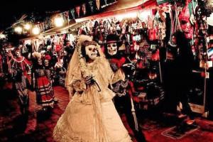 Dia De Los Muertos - Celebrata dal messicano - 1 novembre