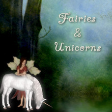 Fairies And Unicorns Fairy...