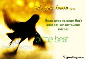 wish u Best of Luck