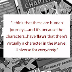 Marvel Character Quotes