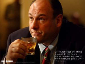 Showcase your favorite characters from the Sopranos on your desktop.