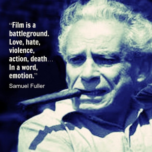 Samuel Fuller. One in a million director and thinker.