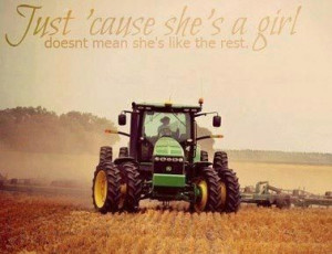 Farm Girl. YES!!! This is so true everyone expects me to be like the ...
