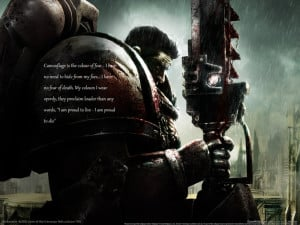 quotes space marines warhammer 40000 1600x1200 wallpaper Abstract ...