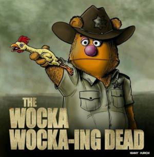 Walking Dead humor.