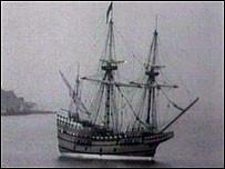 The Mayflower Off Brixham