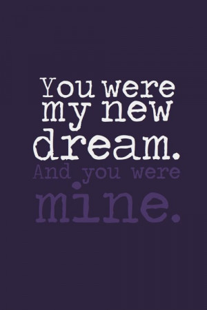 tangled quotes you were my new dream