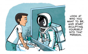 part of a quote by chris hadfield for full comic quote click here