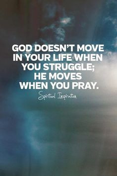 Whenever the insistence is on the point that God answers prayer, we ...