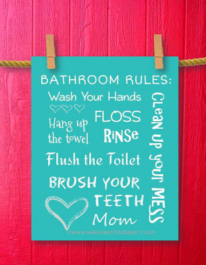 Printable bathroom quotes and sayings quotesgram for Small bathroom quotes