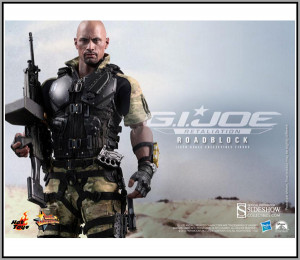 Toys Gi Joe Retaliation Dwayne Johson Roadblock 16 Scale 12 Figure ...