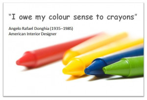 quote about crayons
