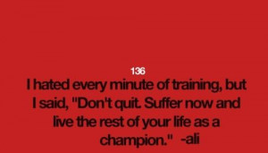 Muhammad ali boxer quotes and sayings champion training