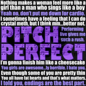 pitch_perfect_quotes_womens_dark_tshirt.jpg?color=Black&height=460 ...