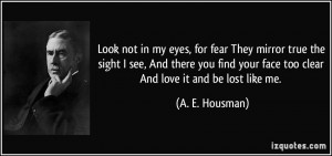 Look in My Eyes Quotes