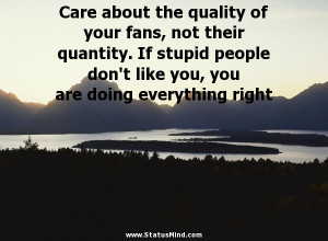 Quotes About Stupid People On Facebook