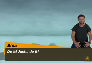 do it Shia LaBeouf Persona 4 just do it just