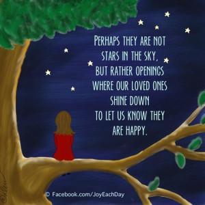 Loved ones in heaven quote via Www.Facebook.com/JoyEachDay