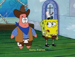 patrick star and spongebob squarepants quotes