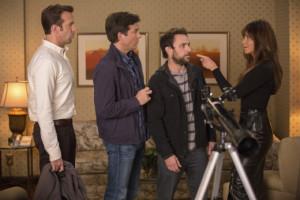 Horrible Bosses 2 Jennifer Aniston Charlie Day Jason Bateman Jason ...