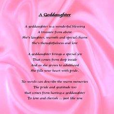 Godmother And Goddaughter Quotes