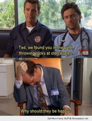 scrubs tv scene janitor jd ted old people happy funny pics pictures ...
