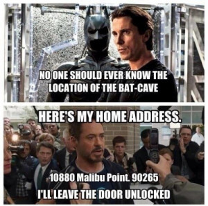 HIlarious Quote Iron Man 3 and more