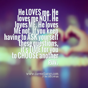 Quotes Picture: he loves me he loves me not he loves me he loves me ...