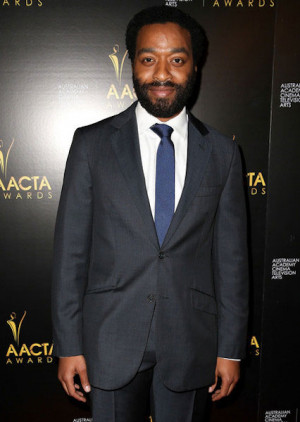 Chiwetel Ejiofor Height...