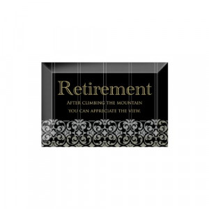 Retirement Plaques for the Lucky Soul