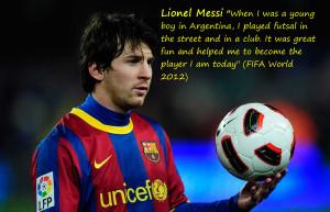Quotes Messi