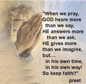 Keep Faith In God