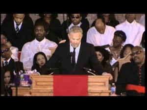 ... Kevin Costner's entire speech at the Whitney Houston funeral service