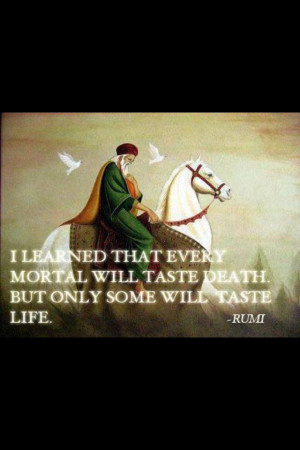 Rumi- Iranian Philosopher and poet