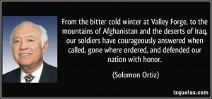 More Solomon Ortiz Quotes