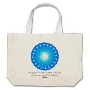 Buddha QUOTATION Buddhist Spiritual Quotes Tote Bag
