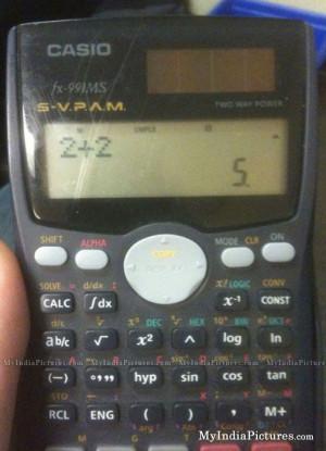 Calculator Made China India